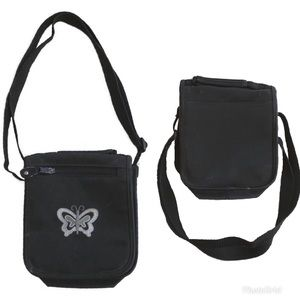Other - 🐠 3 for $15 🐠 Across body purse black butterfly